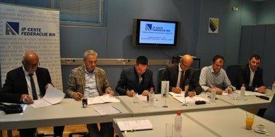 Potpisani ugovori za rekonstrukciju tunela Crnaja i nastavak izgradnje magistralne ceste M-17.3 Neum – Stolac, dionica Stolovi - Drenovac
