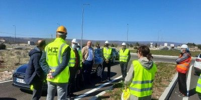 Obilazak gradilišta Južne obilaznice Mostara i dionice Neum - Stolac
