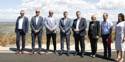 Prime Minister Novalić visited construction sites on the main road M17.3 Stolac - Neum