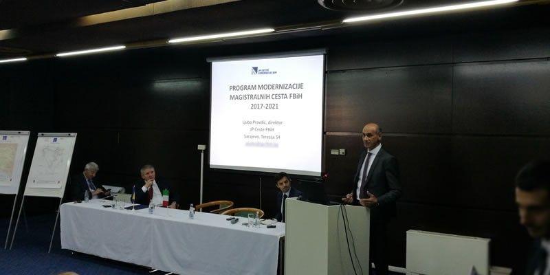 """JP Ceste Federacije BiH na konferenciji  """"Italy and Bosnia & Herzegovina – Building Together"""""""