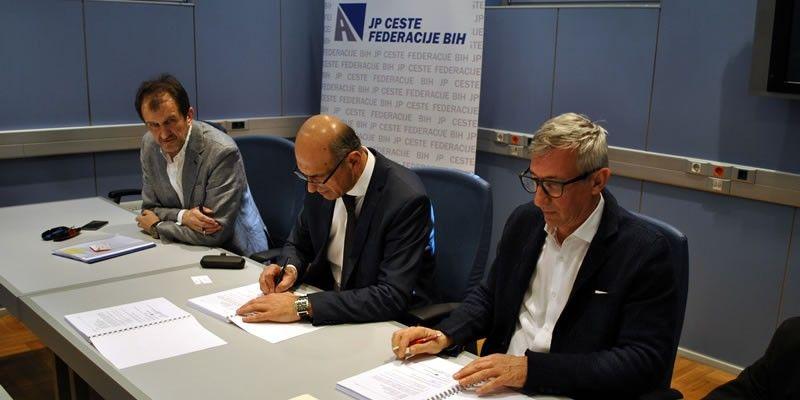 Potpisan ugovor za nadzor radova na izgradnji magistralne ceste M-17.3 Neum – Stolac