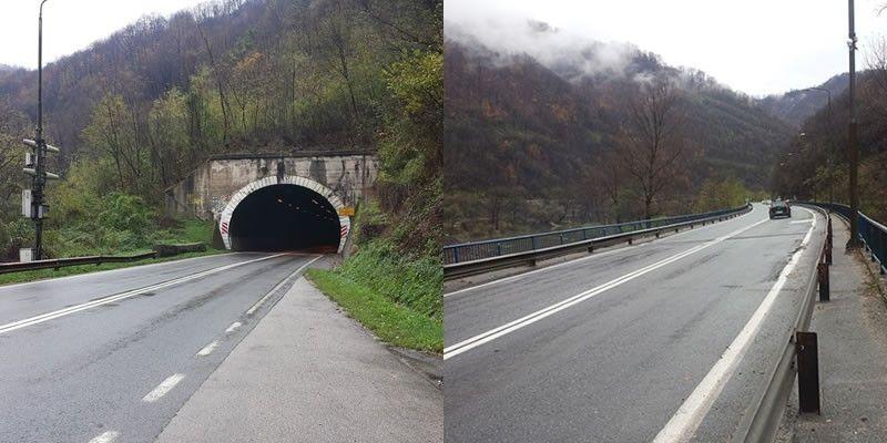 Informacija o odvijanju prometa na magistralnoj cesti M-17