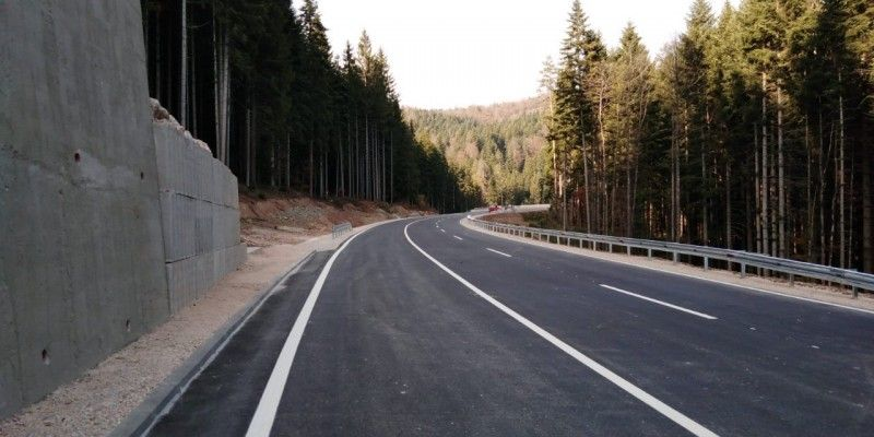Completion of all works on Karula mountain pass