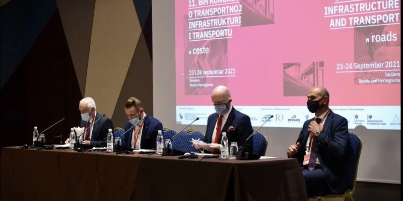 The 11th Congress on Transport Infrastructure and Transport, organized by the Association of Consulting Engineers of B&H, started today in Sarajevo.